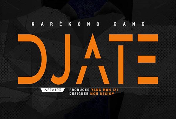 KAREKONO GANG – DJATE